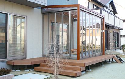 ガーデンルーム・テラス屋根