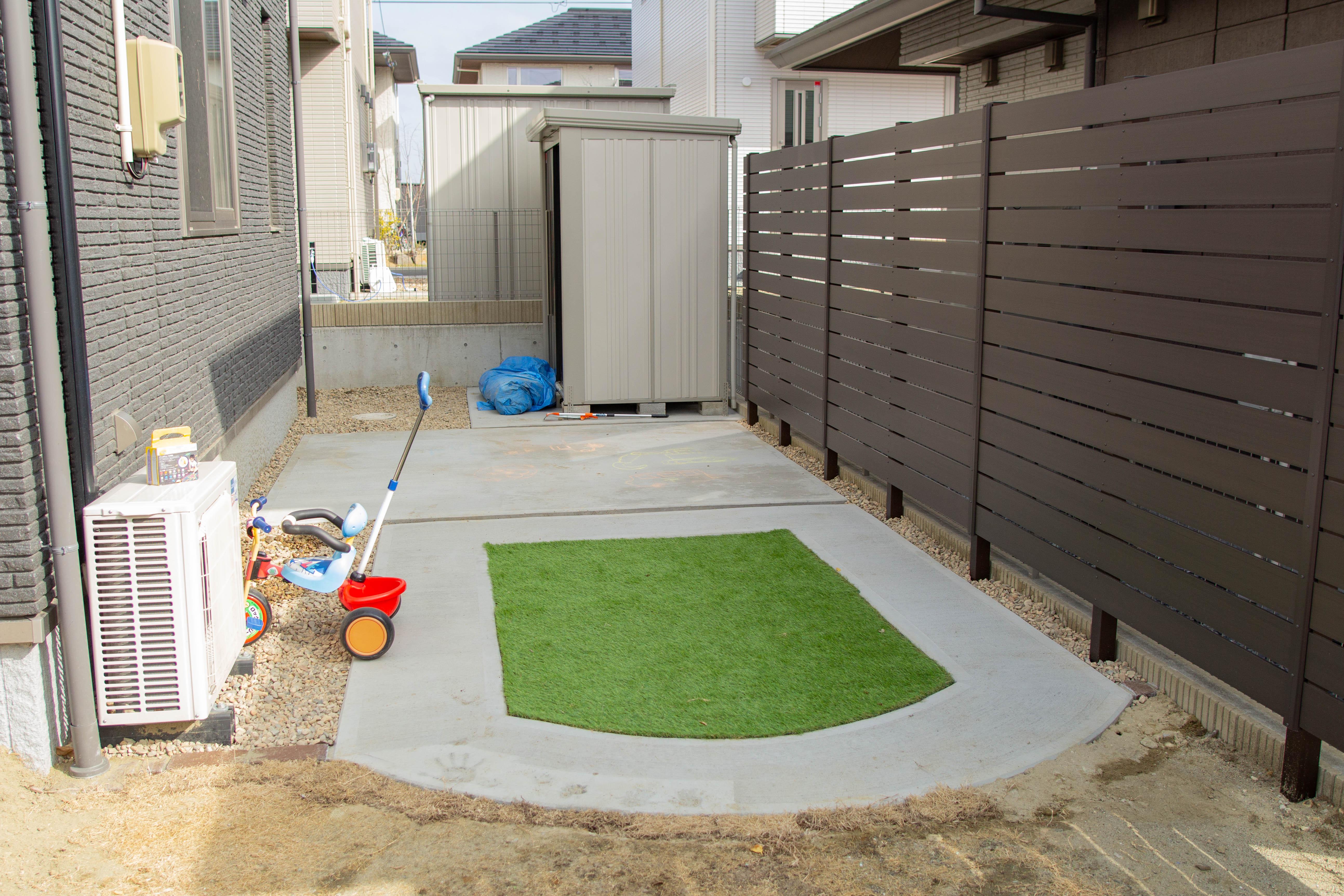 ガーデン9 施工後